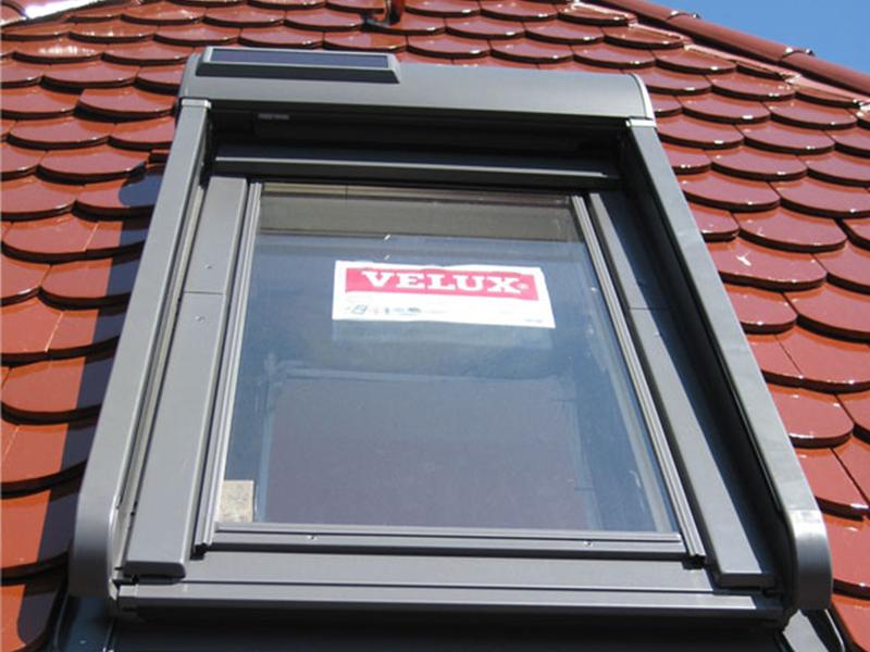 Einbau von Dachflächenfenster